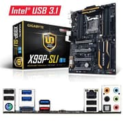 GIGABYTE™ Ultra Durable 128GB ATX Desktop Motherboard, Intel X99 Express (GAX99PSLI)