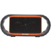 Grace Digital Inc. Ecoxgear ECOXBT 6 W Waterproof Bluetooth Speaker, Orange/Black