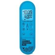iHome® Jumbo Snooze Bar Alarm Clock with USB Charging, Blue (IM14LC)