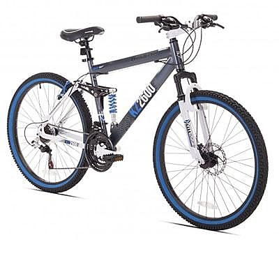 Kent Bicycles Thruster Dual Suspension Mountain Bike,