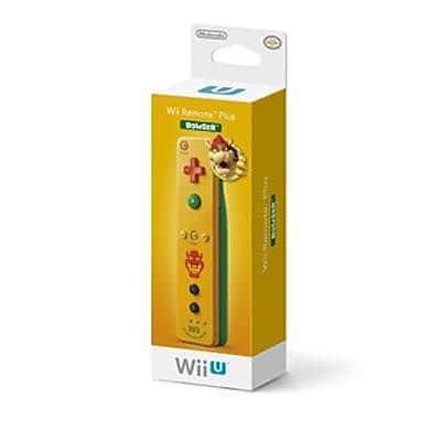 Nintendo® RVLAPNYD Gaming Remote for Wii U Bowser