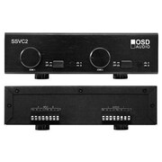 OSD Audio® SSVC2 300 W 2-Zone Speaker Selector, Black