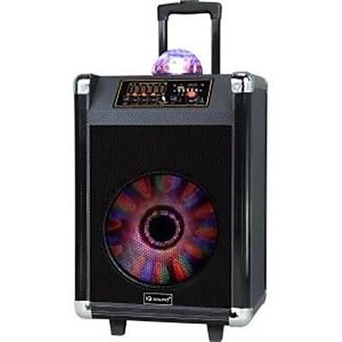 Supersonic® IQ3612DJBT 600 W Portable Bluetooth DJ Speaker, Black