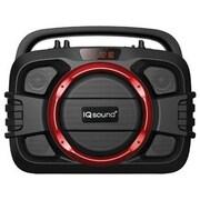 Supersonic® IQ2400BTRD SoundBox Toughneck Bluetooth 2.1 Portable Audio System, Red