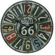 "Taylor® Springfield Indoor/Outdoor 22""Dia Route 66 Analog Wall Clock (98266)"