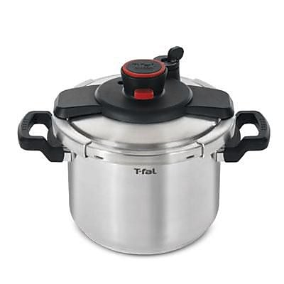 T-fal® Clipso 6.3 qt Dishwasher Safe Pressure Cooker, Stainless Steel (P4500734)
