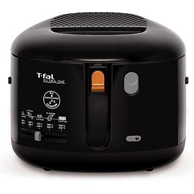 T-fal® Filtra One 2.1 L Electric Deep Fryer, Black (FF162850)