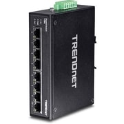 TRENDnet® TIG80 8 Port Hardened Industrial Gigabit Ethernet Unmanaged DIN-Rail Switch