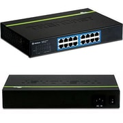TRENDnet® TEGS16D 16 Port GREENnet Gigabit Ethernet Unmanaged Switch