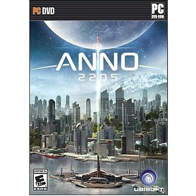 Ubisoft® Anno 2205 Standard Edition PC Strategy Game Software, Windows, DVD-ROM (UBP60801064)