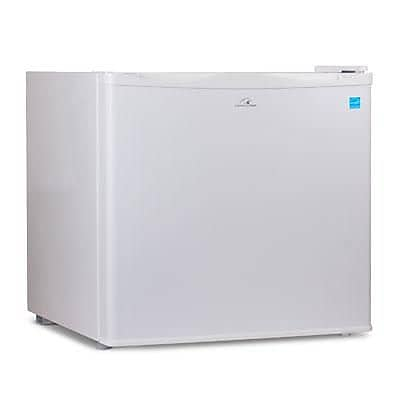 Commercial Cool Commercial Cool Upright Freezer with Adjustable Thermostat Control, 1.2 Cu. Ft (CCUK12W)