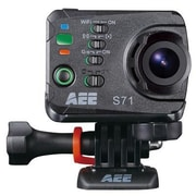 AEE S71 16 MP High Definition Digital Camcorder, 2.7 mm, Black