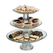 Anchor Hocking Presence 3 Tier Platter Set (86616L8) by