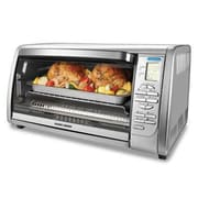 Black & Decker™ 6-Slice Digital Convection Countertop Toaster Oven, Silver (CTO6335S)