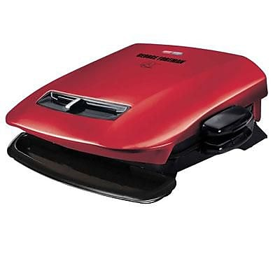 George Foreman® 5 Serving Removable Plate Grill, Red (GRP2841)