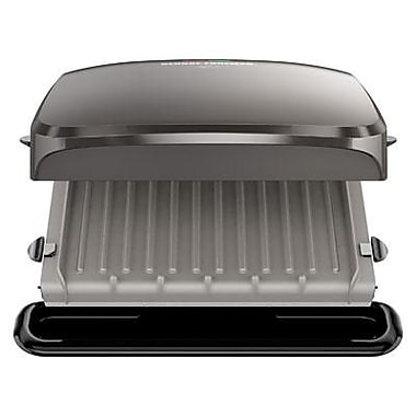 George Foreman® 4 Serving Electric Grill, Platinum (GRP3060)
