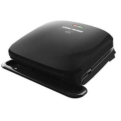 George Foreman® 4 Serving Electric Grill, Black (GRP3060)