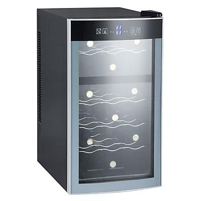Avanti® EWC18N2PD Single Section 18 Bottle Thermoelectric Wine Cooler, Black