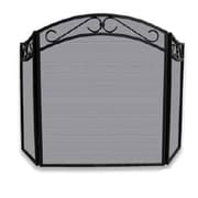 "Blue Rhino® Uniflame® 51 1/2"" 3-Fold Arch Fireplace Screen, Black (S1088)"