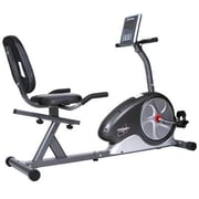 Body Flex Body Champ Magnetic Recumbent Bike, Gray/Black (BRB5872)