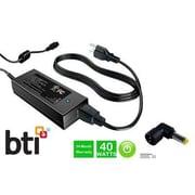 BTI PA5044U1ACA 40 W AC Adapter for Toshiba Notebook, Black