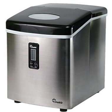Chard™ 35 lbs. Portable Ice Maker, Stainless Steel (IM-12SS)