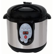 Chard™ The CANner 9.5 Quart Pressure Canner and Cooker, Black (DPC9SS)