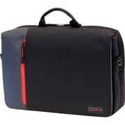 "Codi® Ultralite Black/Red Nylon Hybrid Messenger for 15.6"" Laptop (C2300)"