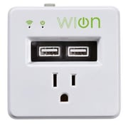 Coleman Cable WiOn 50055 Indoor Wi-Fi Wall Tap with 2 USB Ports