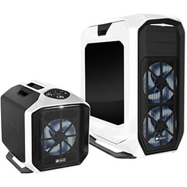 Corsair® Graphite Series™ 780T Window Full-Tower Computer Case, White, 12xBay, for ATX Motherboard (CC-9011059-WW)