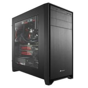 Corsair® Obsidian Series® 350D Window Mid-Tower Computer Case, 6xBay, for Mini ITX/Micro ATX Motherboard (CC-9011029-WW)