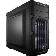 Corsair® Carbide Series® SPEC-03 Red LED Window Mid-Tower Computer Case, 7xBay, for Mini ITX Motherboard (CC-9011058-WW)