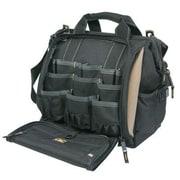 Custom Leathercraft® Tool Works™ 33 Pocket Multi-Compartment Tool Carrier, Black (1537)