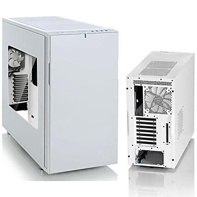 Fractal Design Define R5 Window Mid-Tower Computer Case, White, 12xBay, for Mini ITX/ATX Motherboard (FD-CA-DEF-R5-WT-W)