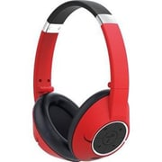 Genius® HS-930BT Bluetooth Stereo Over-the-Head Headset with Mic, Red