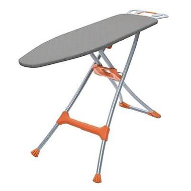Homz® Premium Durabilt Ironing Board, Silver/Orange (4750150)