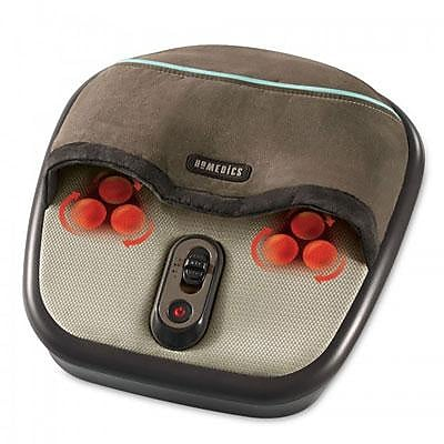 HoMedics® Air Compression and Shiatsu Foot Massager with Heat, 15