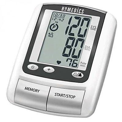 HoMedics® Automatic Blood Pressure Monitor, Silver/Black (BPA-060)