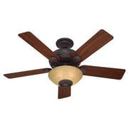 "Hunter® Westover® 52"" Ceiling Fan, Bronze/Brown (59033)"