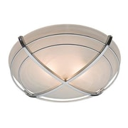 "Hunter® Halcyon 6.45"" x 7.78"" x 8.35"" Contemporary Bathroom Exhaust Fan with Light, Cast Chrome (81030)"
