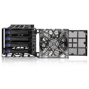 """Icy Dock® Black Vortex 3.5"""" External USB 3.0/eSATA HDD Enclosure, Black (MB174U3S4SB)"""