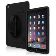 Incipio® IPD261BLK Capture Plextonium Polycarbonate Ultra Rugged Case for iPad Air 2, Black