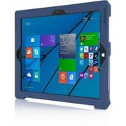 Incipio® MRSF071BLU Feather Vegan Leather Ultra Thin Snap-on Carrying Case for Microsoft Surface Pro 3, Blue