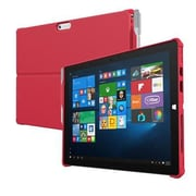 Incipio® MRSF092RED Feather Hybrid TPU Co-Molded Rugged Case for Microsoft Surface Pro 4, Red