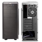 Inwin Mid-Tower Computer Case, 10xBay, for Micro ATX/ATX Motherboard (G7 (black))