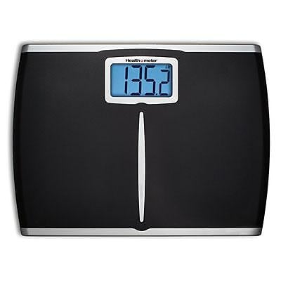 Jarden Health o meter® HDM459DQ05 Extra Wide Weight Tracking Scale, Black, 400 lbs.