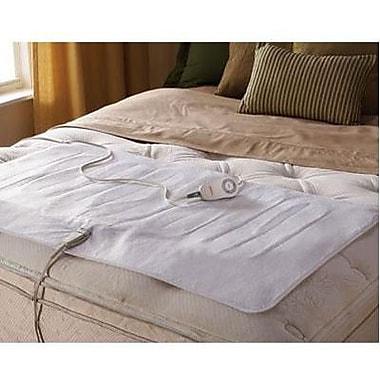 Jarden Sunbeam® Polyester Full/Twin Electric Mattress Pad, White (MSU1XTFN00051A00)