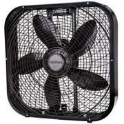 "Jarden Holmes™ 20 1/2"" x 20 1/2"" x 3 3/4"" Box Fan, Black (HBF2001DPBM)"