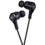 JVC HAFR100X Elation XX Stereo In-Ear Earbud with Mic, Black