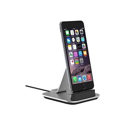 Kanex K8PDOCK 3.3' Desktop Dock for iPhone 6/6 Plus/6S/6S Plus; Silver